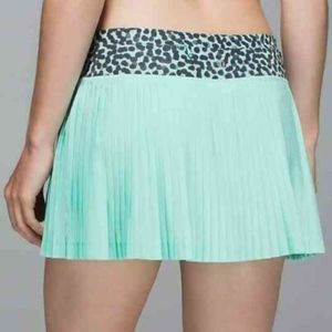 Lululemon Pleat To Street Skirt Skort